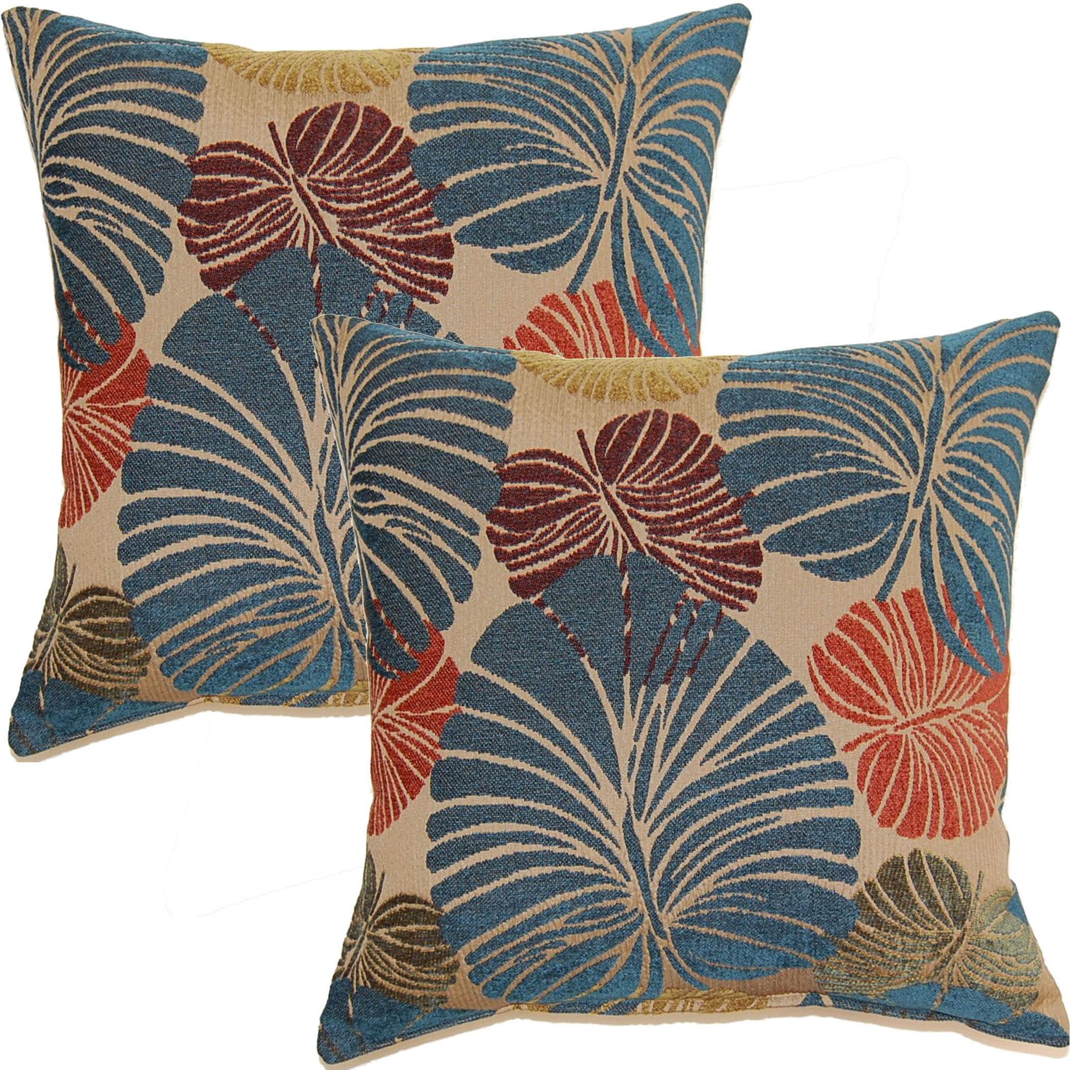 Fern Power 17-in Throw Pillows (Set of 2) (Throw Pillow)