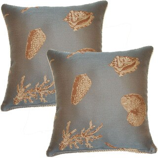 Nassua 17-in Throw Pillows (Set of 2)
