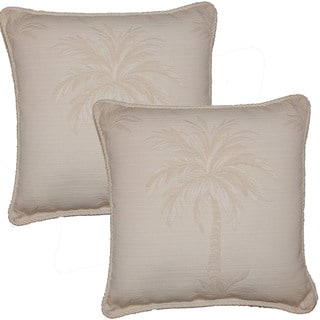 Paradise 16-in Throw Pillows (Set of 2)