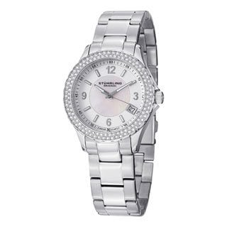 Stuhrling Original Women's Iris Swiss Quartz Bracelet Watch