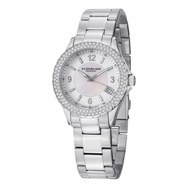 Stuhrling Original Women's Iris Swiss Quartz Bracelet Watch