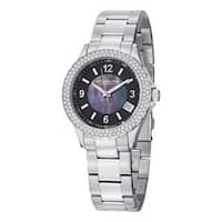 Stuhrling Original Women's Iris Swiss Quartz Bracelet Bracelet Watch