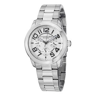 Stuhrling Original Women's Regal MF Quartz Stainless Steel Bracelet Watch