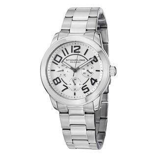 Stuhrling Original Women's Regal MF Quartz Stainless Steel Bracelet Watch