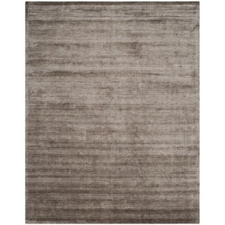 Safavieh Handmade Mirage Modern Brown/ Charcoal Viscose Rug (9' x 12')
