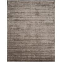 Safavieh Handmade Mirage Modern Tonal Brown/ Charcoal Viscose Rug (9' x 12') - 9' x 12'