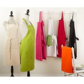 Saro Vivid Colors Denim Cotton Apron (3 options available)