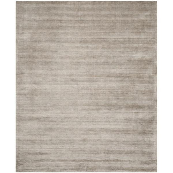 Safavieh Handmade Mirage Modern Tonal Grey Viscose Rug (8' x 10')