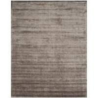 Safavieh Handmade Mirage Modern Tonal Brown/ Charcoal Viscose Rug - 6' x 9'