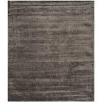 Safavieh Handmade Mirage Modern Tonal Charcoal Viscose Rug (6' x 9')
