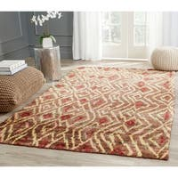 Safavieh Hand-knotted Bohemian Brown/ Gold Jute Rug - 8' X 10'