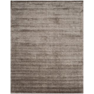 Safavieh Handmade Mirage Modern Brown/ Charcoal Viscose Rug (8' x 10')