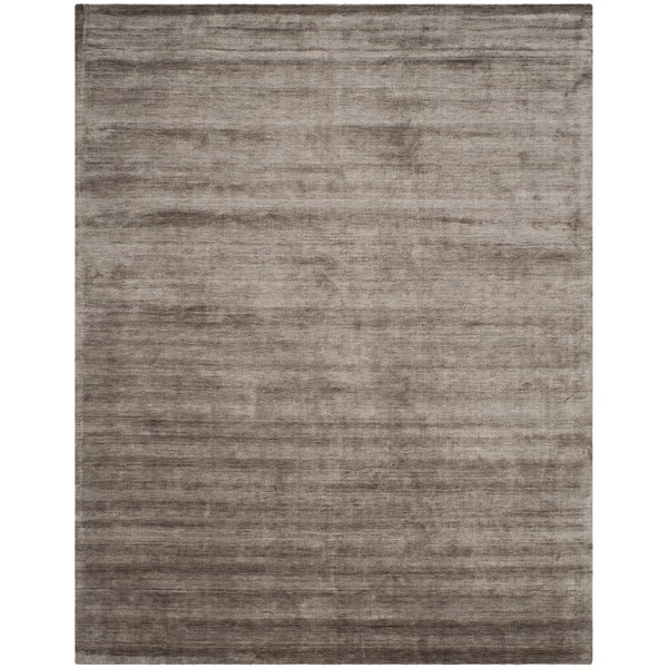 Safavieh Handmade Mirage Modern Tonal Brown/ Charcoal Viscose Rug - 8' x 10'