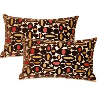 Centric Mink 12.5-in Throw Pillows (Set of 2)
