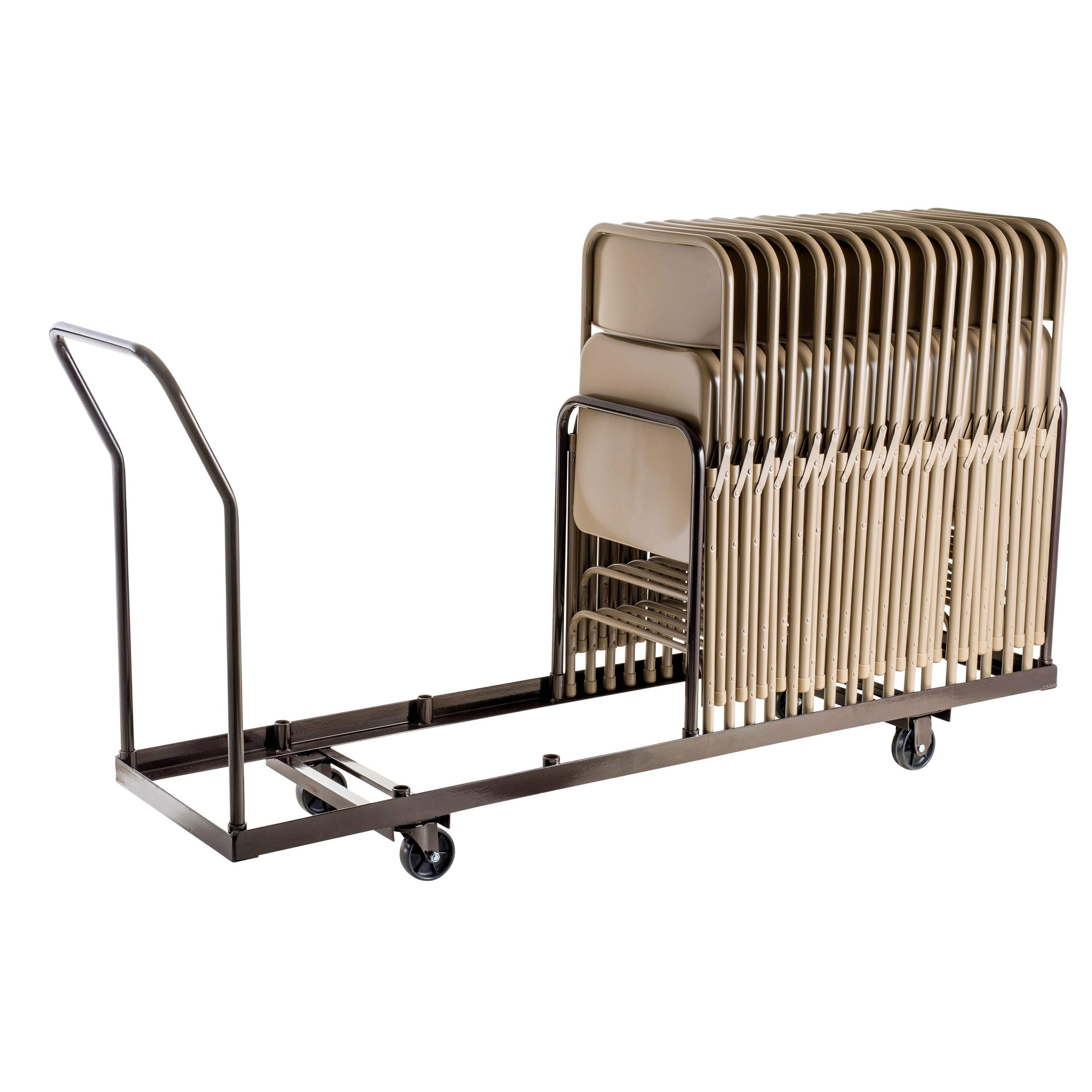 35 Capacity Folding Chair Dolly Truck