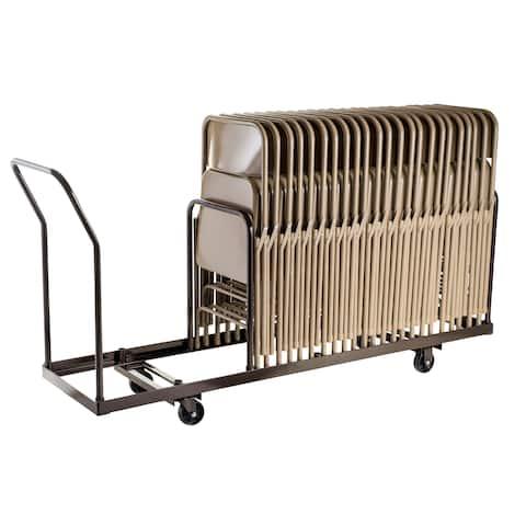 35-capacity Folding Chair Dolly Truck