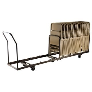 50-capacity Folding Chair Dolly Truck