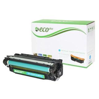 Ecoplus CE401A Remanufactured Cyan Toner Cartridge
