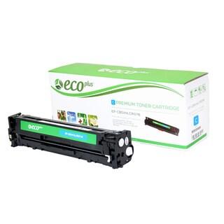 Ecoplus CB541A Remanufactured Cyan Toner Cartridge