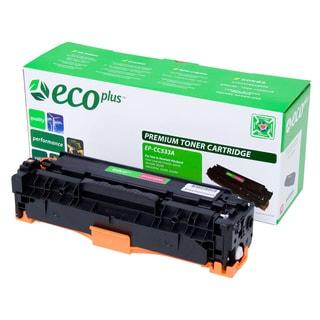 Ecoplus 'CC533A' Remanufactured Magenta Toner Cartridge