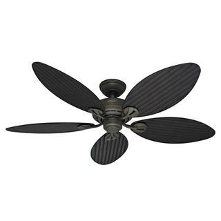 Hunter Fan Bayview 54-inch 5-palm Leaf Blades Ceiling Fan|https://ak1.ostkcdn.com/images/products/8688997/P15942386.jpg?impolicy=medium