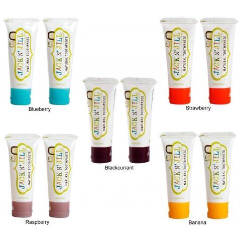 Jack N' Jill Natural Toothpaste (Pack of 2)