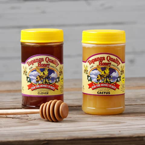 Topanga Quality Cactus and Clover Raw Honey