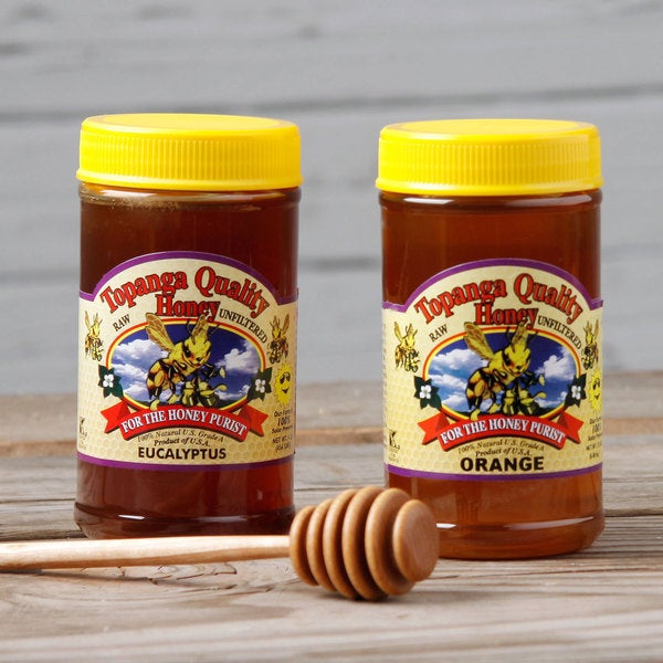Topanga Quality Orange and Eucalyptus Raw Honey. Opens flyout.