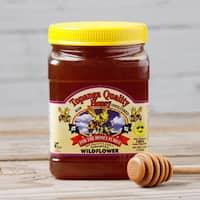 Topanga Quality Wildflower Raw Unfiltered Honey (3 Pounds)