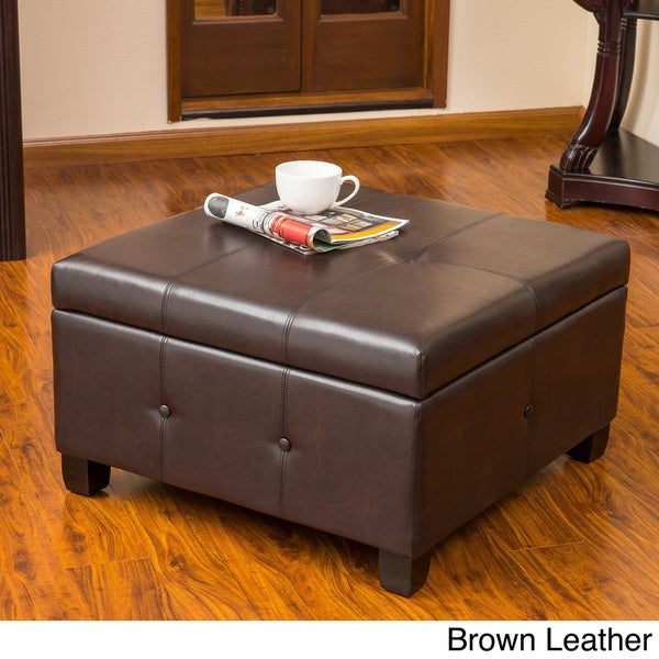 Hudson Storage Ottoman by Christopher Knight Home