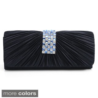 J. Furmani 'Ashley' Pleated Satin Evening Bag (3 options available)