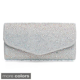 J. Furmani Fully Studded Flap Clutch (3 options available)