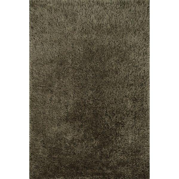 Hand-tufted Dream Charcoal Shag Rug (7'9 x 9'9) - 7'9 x 9'9