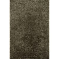 Hand-tufted Dream Charcoal Shag Rug (7'9 x 9'9) - 7'9 x 9'9