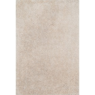 Hand-tufted Dream Beige Shag Rug (3'6 x 5'6)