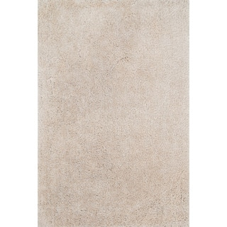Hand-tufted Dream Beige Shag Rug (5'0 x 7'6)