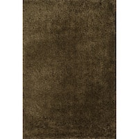 Hand-tufted Dream Brown Shag Rug (7'9 x 9'9) - 7'9 x 9'9