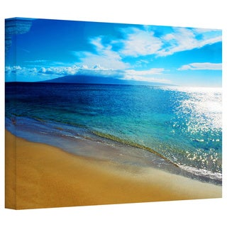 Art Wall Kathy Yates 'Blue Hawaii' Gallery-Wrapped Canvas