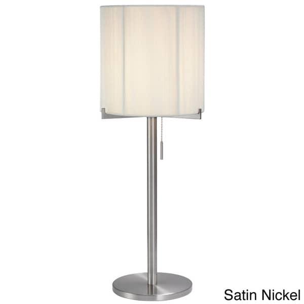 Sonneman Lighting Boxus 1-light Round Table Lamp