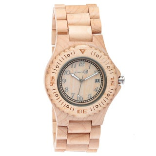 Earth Sebe01 Phloem Tan Wood 41mm Watch