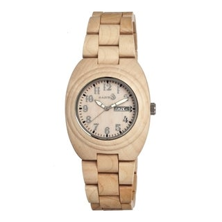 Earth Sede01 Hilum Wood 41mm Watch