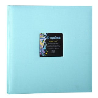 Kleer Vu Cloth Fabric Light Blue Scrapbook