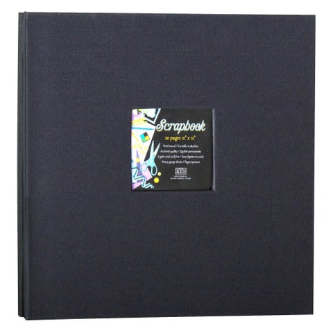 Kleer Vu Cloth Fabric Black Scrapbook