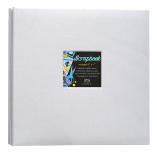 Kleer Vu Cloth Fabric White Scrapbook