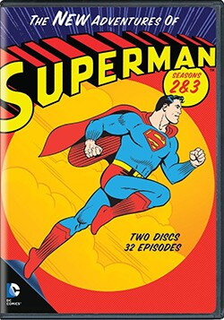 The New Adventures Of Superman: Season 2 & 3 (DVD)