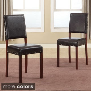 baxton studio noah modern dining chairs set of 2