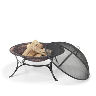30-inch Medium Fire Pit with Spark Screen