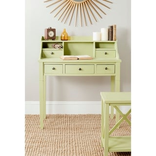 Safavieh Landon Avocado Green Writing Desk
