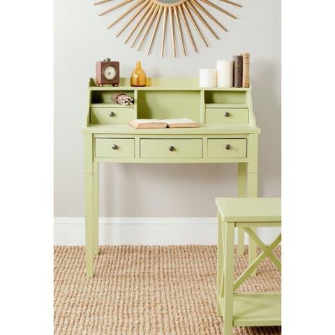 Safavieh Landon Avocado Green Writing Desk