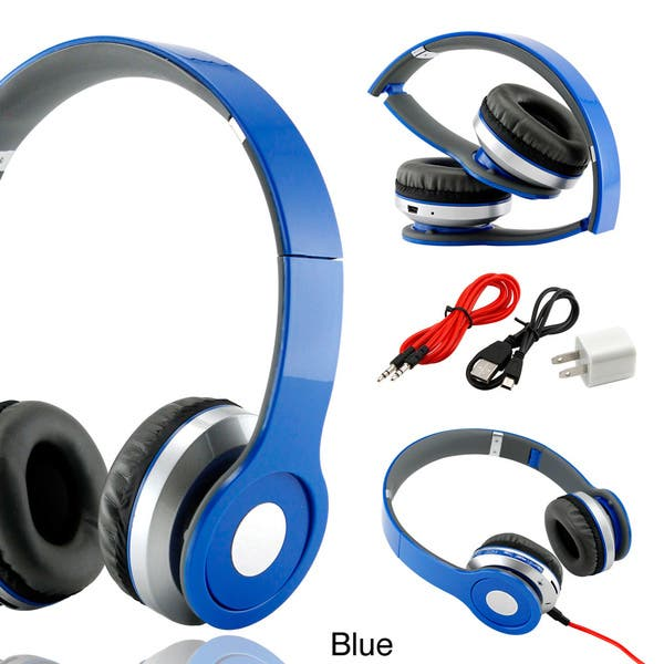 Shop Gearonic Wireless Bluetooth Headphones For Iphone Ipod Mp3 Mp4 Pc Mobile Free Shipping On Orders Over 45 Overstock 8692330